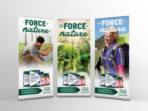 ROLL- UP BANNERS