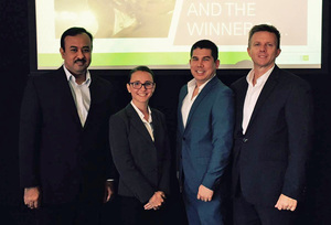 AIB team wins state heat in KPMG International Case Competition