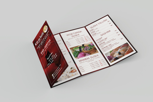 Menu / Flyer Design