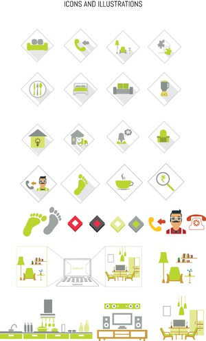 Icons for Homeluxe.in