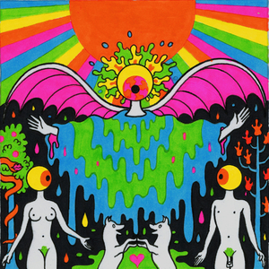 With A Little Help from My Fwends Original Art / The Flaming Lips