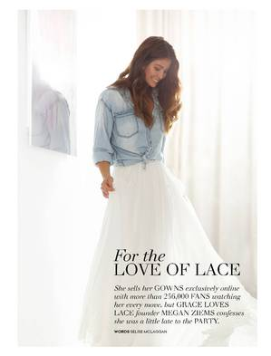Grace Loves Lace article for Collective Hub