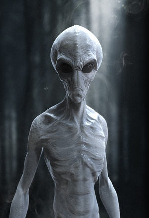 Grey Alien Sculpt