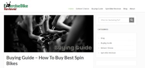Increase the UX of Exercise Bike Reviewer