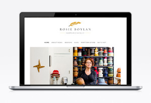 Rosie Boylan Identity & Website Design