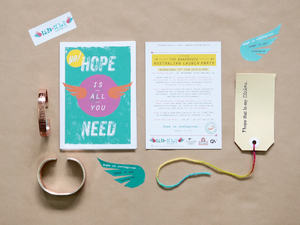 Band4Hope Identity, Collateral, Signage, Experiential, Exhibition and Event Design