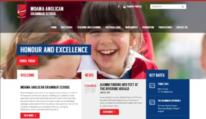 Moama Anglican Girls School Wordpress Project