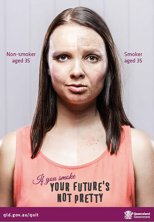 Queensland Health - Your future's not pretty