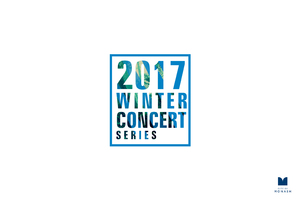CITY OF MONASH - 2017 Winter Concert Series