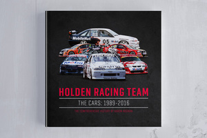 HOLDEN RACING TEAM – THE CARS: 1989-2016 BOOK DESIGN