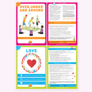 Flyers for mindfulness company Life Skills Group