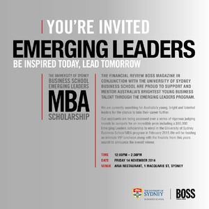 BOSS Emerging Leaders Event