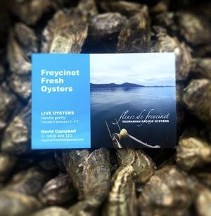 Freycinet Fresh Oyster Farm tag