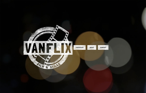 Vanflix.com Website Design