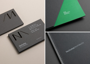Nicholas Architects Brand ID | Creative Foundations