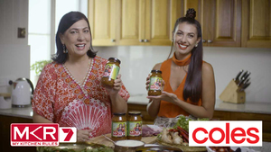 MY KITCHEN RULES WITH COLES - SAUCE