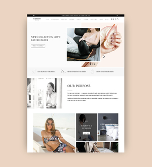 UX and UI design for Lady Boss Global