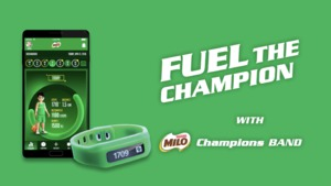 Fuel the champion with the MILO Champions band