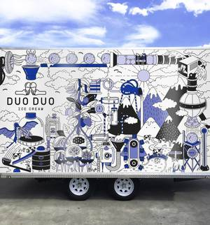 Duo Duo Ice Cream Truck Design