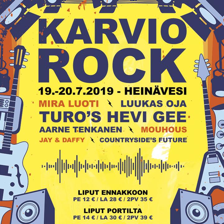 Karvio Rock 19.-20.7.