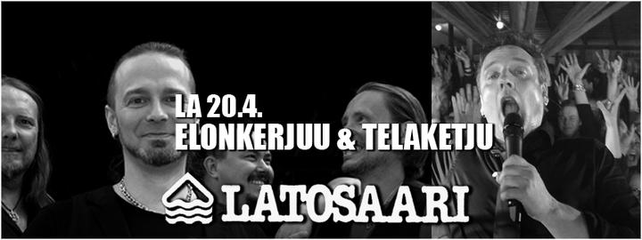 Elonkerjuu & Telaketju Latosaari 20.4.
