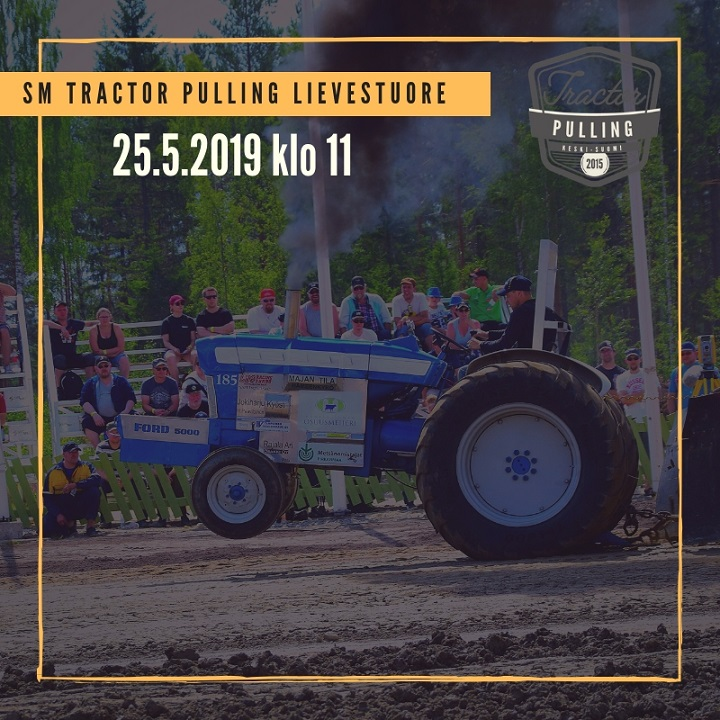 SM Tractor Pulling Lievestuore 25.5.2019