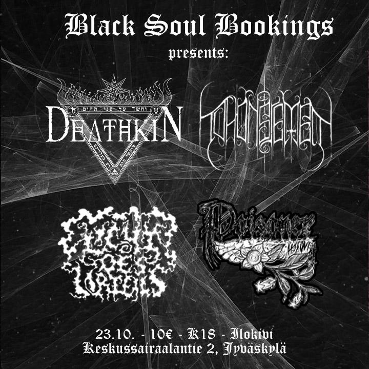 Deathkin, Tuhonsiemen, Licht des urteils, Poisoner
