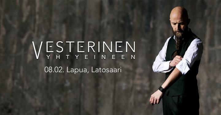 Vesterinen yhtyeineen Lapuan Latosaari
