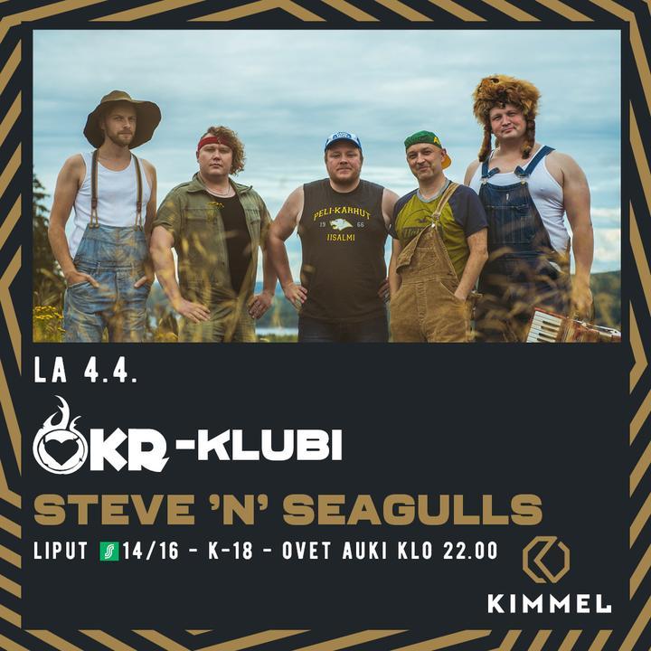 OKR KLUBI// Steve'n' Seagulls 4.4.2020 (PERUTTU)
