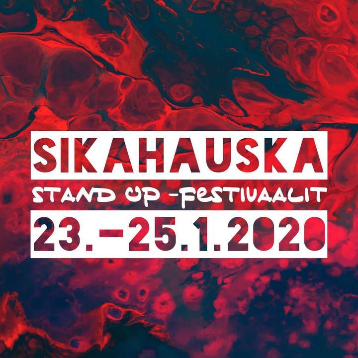 Sikahauska stand up -klubi 25.1.2020