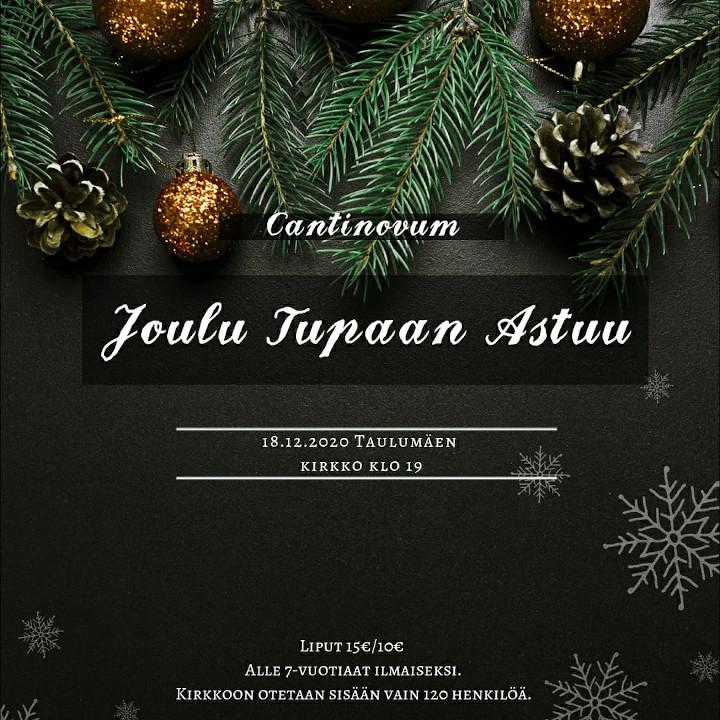 Cantinovum - Joulu tupaan astuu