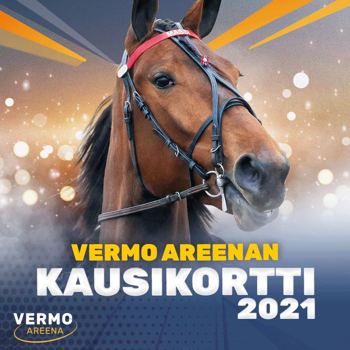 Vermo Areenan kausikortit 2021