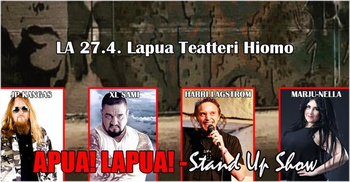 Apua! Lapua! - Stand Up Show