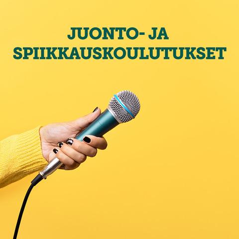 Juonto- ja spiikkauskoulutus / Pirkkala 2.4. (PERUUTETTU)