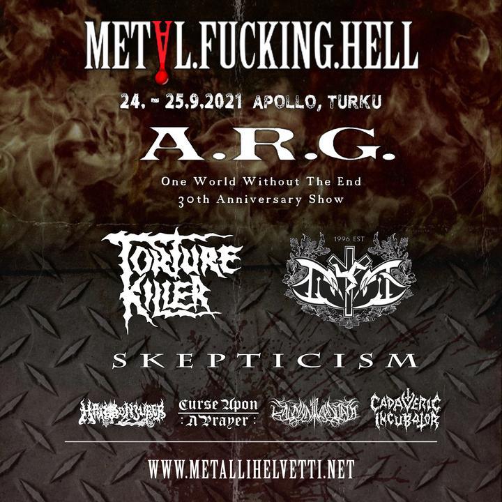 Metallihelvetti esittää: Metal.Fucking.Hell - extreme metal festival