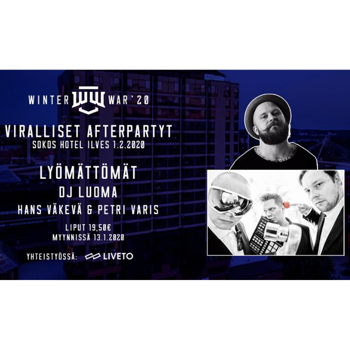 Winter War 2020 - Virallinen afterparty (yhteistyössä Liveto)