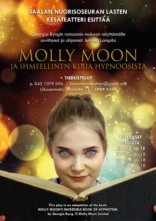 Molly Moon ja ihmeellinen kirja hypnoosista