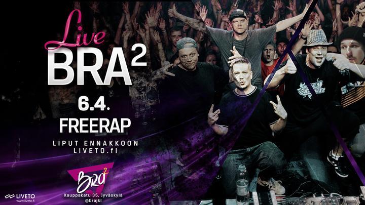 BRA2 Live Freerap
