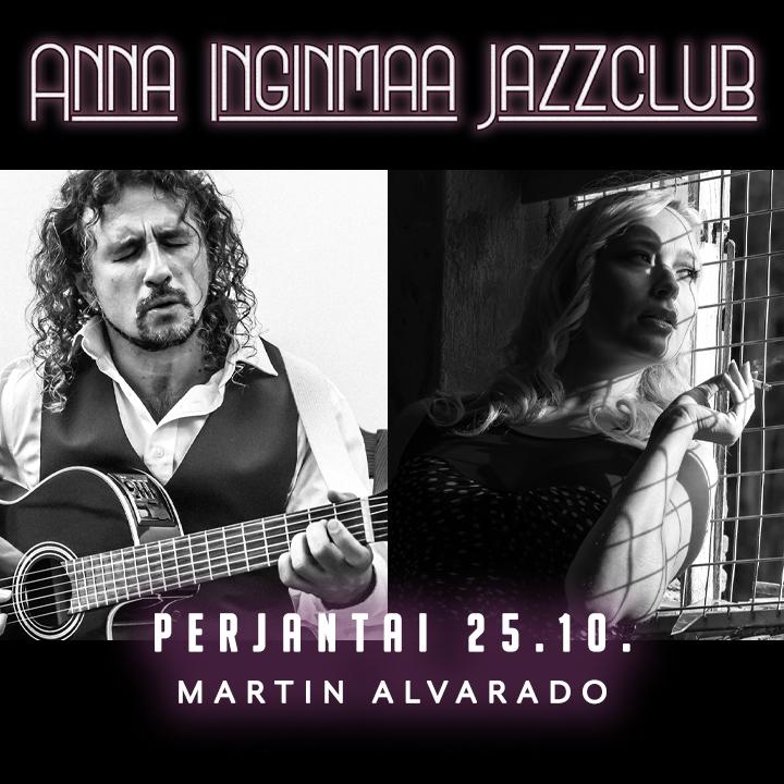 Anna Inginmaa Jazzclub w/ Martin Alvarado 25.10.2019