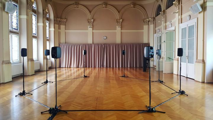 Tanssin Aika 2021: installaatio Sonic Presence of an absent choreography 25.9.