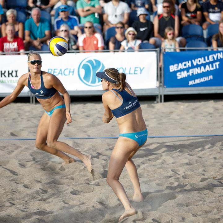 Beach volleyn SM-finaalit 2019