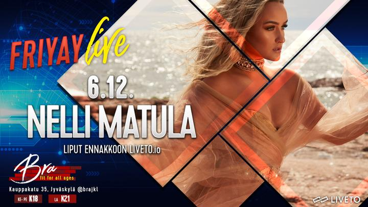 Friyay Live: Nelli Matula 6.12.