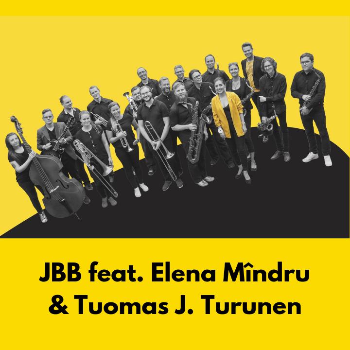 Folkloric Moods -levyn julkaisukonsertti: Jyväskylä Big Band feat. Elena Mîndru & Tuomas J. Turunen