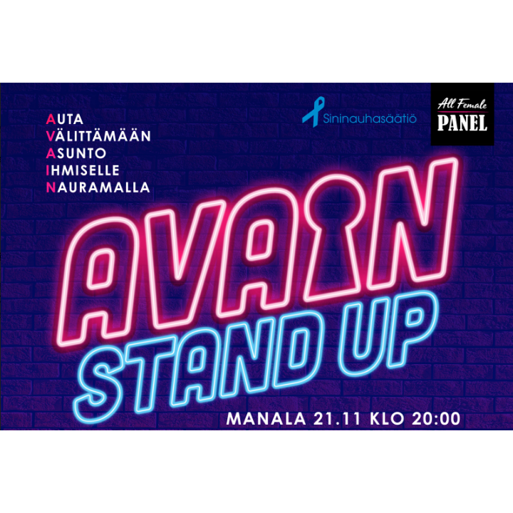 Avain stand up 21.11.