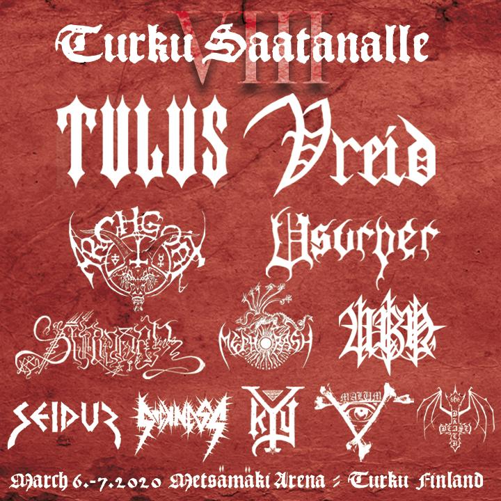 Turku Saatanalle 8