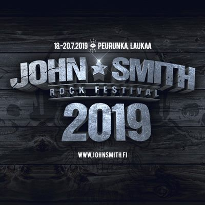 John Smith Rock Festival 2019 - PÄÄSYLIPUT / TICKETS