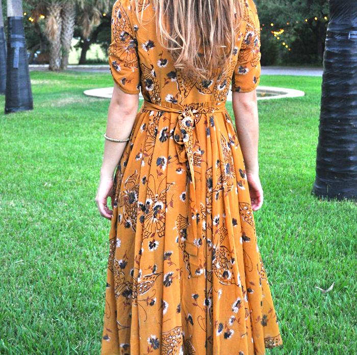 Yellow Floral Dress - LivvyLand  265c7746f