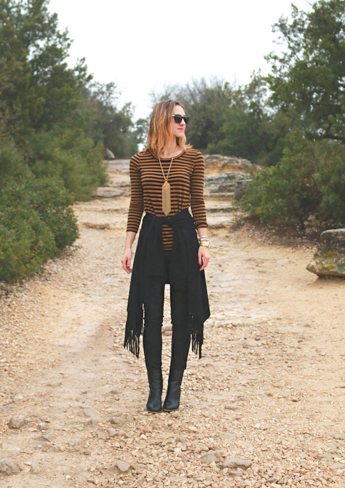 livvyland-blog-olivia-watson-austin-texas-fashion-blogger-INC-fringe-macys-jacket-stella-dot-fringe-necklace-mount-bonnel