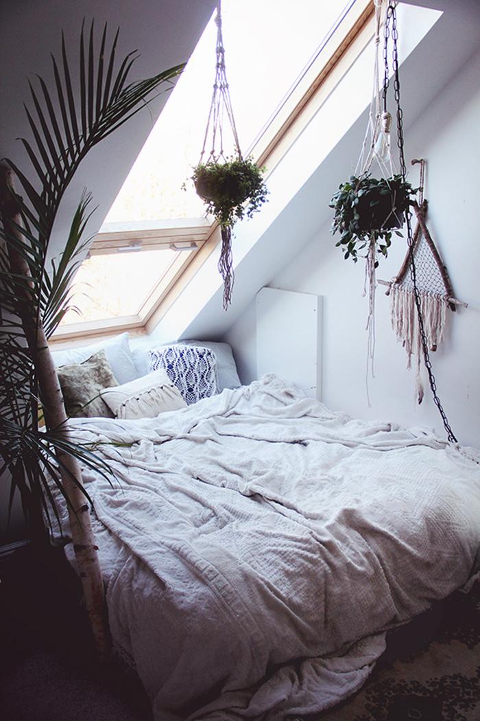 cozy-sleeping-space-bed-boho-bohemian-decor