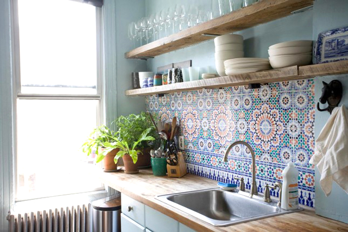 4 kitchen backsplash pattern ideas - livvyland | austin fashion